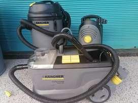 Venta de equipo para lavadora de vehículos y lavado de tapicería