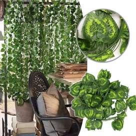 enredadera artificial para interior y jardines
