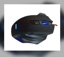 Mouse Gamer Usb Luz Led