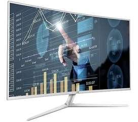 Monitor curvo AOC 40 pulgadas C4008VH8