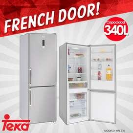 Refrigeradora Teka French Door 340 Litros Panel Digital