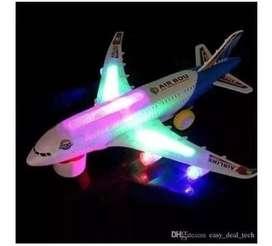 Avion Juguete Comercial Pasajeros Luces Sonidos Niño Envio