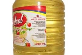 Usado, Aceite Vegetal De Soya Ideal 4.800ml segunda mano  Vil