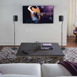 Base de pedestal para sonido envolvente teatro en casa.