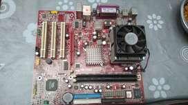 vendo cambio 2  board para pc. 1 MSI y una Intel -