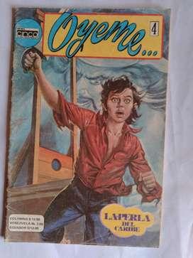 """Revistas de colección:  comics """"OYEME"""""""