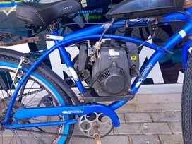 """Bicimotor/Ciclomotor 26"""" motor 4 tiempos."""
