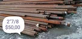 Tubería petrolera reciclada varias medidas