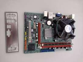 Combo Mother, micro Intel. Mother ECS G41T-M7, micro dual core e 5500