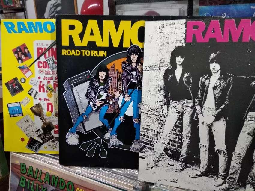 Discos de vinilo originales de The Ramones 0