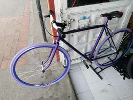 Bicicleta fixy marco Román antiguo