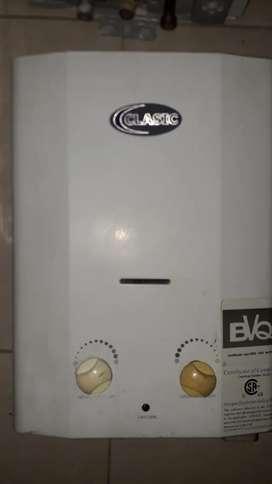 Calentadores de agua a gas con instalación