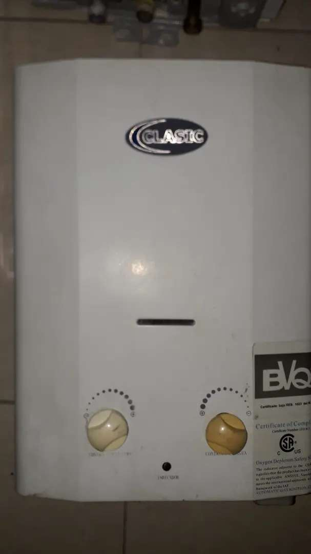 Calentadores de agua a gas con instalación 0