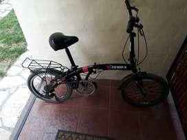 Bicicleta plegable x terra fx 20