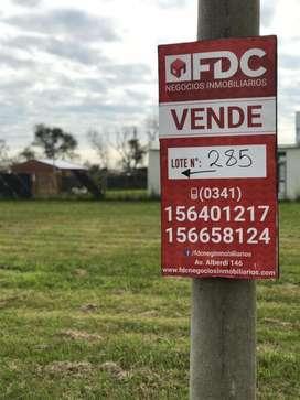 VENTA TERRENO FUNES TOWN LOTE 285 ESCRITURADO ESQUINA