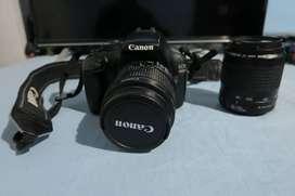 Canon EOS 1100 D mas Dos Lentes
