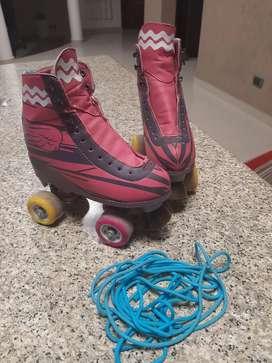 Vendo par de patines Soy Luna como nuevo