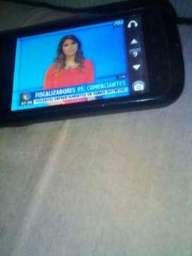 Celular con tv  remato o cambio ok