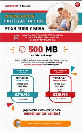 Internet para el hogar. Planes móviles