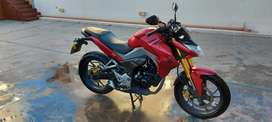 Honda cb 190r 16000 km ¡cubiertas nuevas!