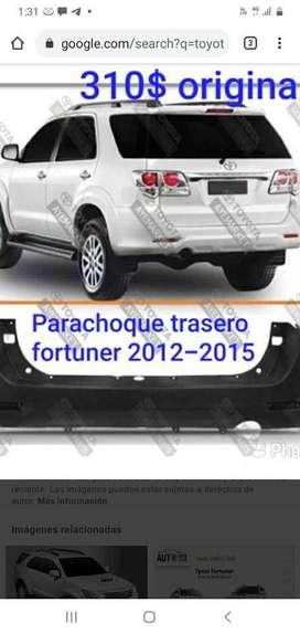 PARACHOQUE TRASERO FORTUNER