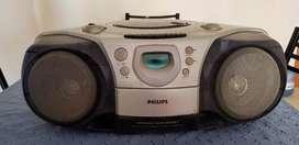 Vendo radio grabador Philips impecable usado
