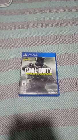 Juego call of Duty infinite warfare nuevo juego de play4 nuevo