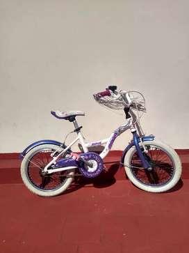 Bicicleta Bmx Niña Rodado 16 Usada Buen Estado