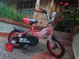 Bicicleta aro 12 niño