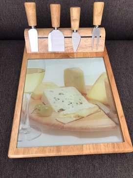 Set tabla para quesos