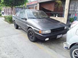 Vendo Toyota tercel 1987 coupé deportivo