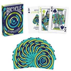 Cartas Bicycle Hypnosis Air Cushion Hipnotismo Cardistry
