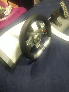 Vendo Timon con Pedales de Xbox 360