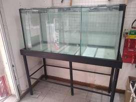 Vendo pecera vidrio templado 10mm