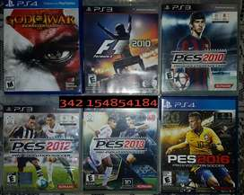 Juegos PS3 y PS4