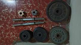 Discos de peso en hierro