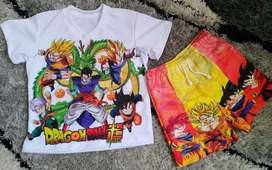 Conjunto Niño Dragon Ball