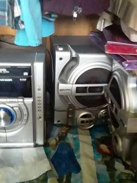 Equipo de sonido Panasonic CD Stereo System SA-AK331 en buen estado