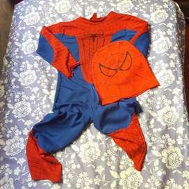 disfraz infantil spiderman, leer descripción!