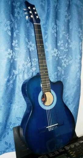 Guitarra hermosa Andalucia