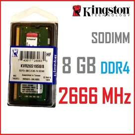 Usado, Memoria ram 8gb 2666Mhz (nuevo) sodimm laptop segunda mano  Perú