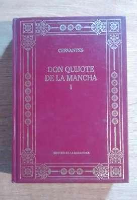"""CERVANTES """"EL QUIJOTE DE LA MANCHA"""""""