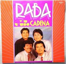 disco vinilo Raba y su grupo cadena