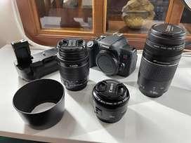 Canon T6i + Lentes - Usada - Perfecta.