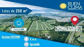 Lote buen clima - Circunvalacion Oeste en San Lorenzo Chico