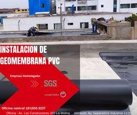 IMPERMEABILIZACIÓN DE TECHOS CON GEOMEMBRANAS - MEJORES PRECIOS EN EL MERCADO