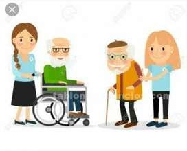 Presto Servicio de Aux en Enfermería
