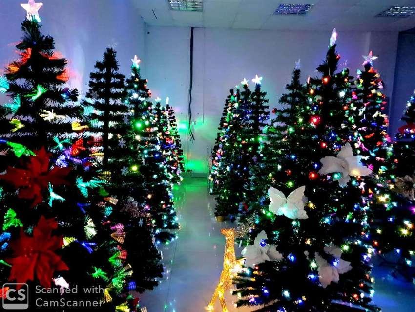 Arbol de Navidad Led Fibra Optica 0
