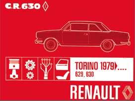 TORINO MODELOS 629-630 MANUAL DE PARTES 1979