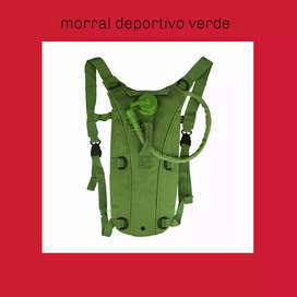Morral deportivo verde